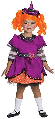 LaLaLoopsy Candy Broomsticks Deluxe Costume, (Candy Themed Costumes)