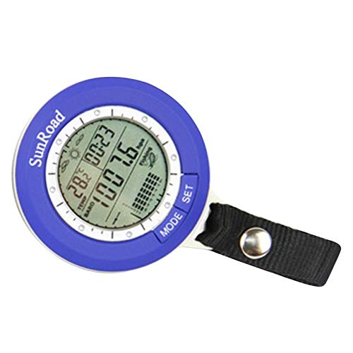 CamKpell Fishing Fishing Barometer Multi-functional LCD Digital Outdoor Fishing Barometer Altimeter Thermometer