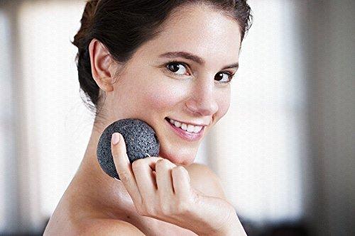 (Konjac Natural Face Sponge By Deneve - Exfoliating Facial Makeup Sponges - Cruelty Free Vegan - Body Skin Acne Dry Eczema Exfoliate Cleansing)