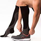 Compression Socks - Knee High Pressure Socks for Men and Women - Blood Clot Compression...