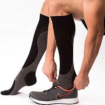 5ea64f56a02 Compression Socks - Knee High Pressure Socks for Men and Women - Blood Clot Compression  Socks