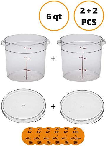 6 qt round container - 9
