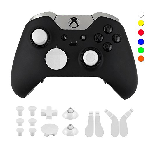 Cheap WPS Metal Alloy Bumper Trigger Button Set for XBOX One Elite Controller with Open Tools ( T6 T8 ) – White