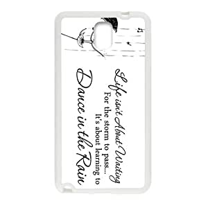 Happy Elegant Dance In The Rain Brand New And Custom Hard Case Cover Protector For Samsung Galaxy Note3