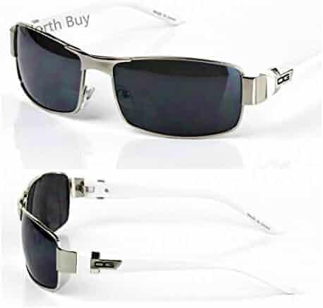 a62b876f98009 Mens DG Eyewear Wrap Around Sunglasses Fashion Designer Rectangular Retro  Shades