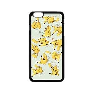 Anime cartoon Pokemon Pikachu Cell Phone Case for Iphone 6