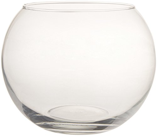 "Libbey Syndicate Sales 8"" Bubble Ball, Clear"