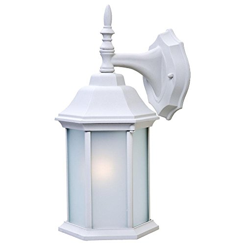 - Acclaim 5182TW/FR Craftsman 2 Collection 1-Light Wall Mount Outdoor Light Fixture, Textured White