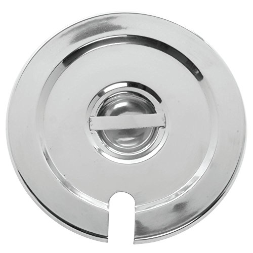 HUBERT Bain Maire Lid Notched for 2 1/2 qt Bain Marie Inset Pan