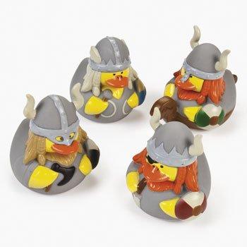 (12 ct Viking Rubber Ducks by Fun)