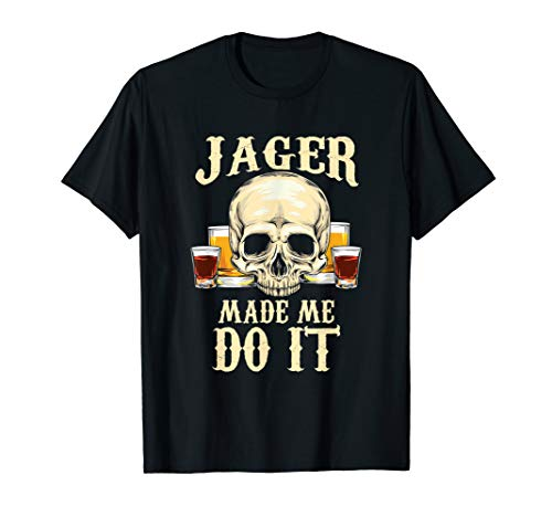 Funny Alcohol Jager T-Shirt