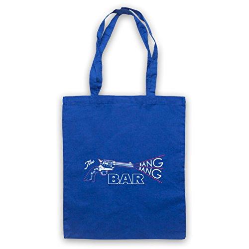 Twin Peaks The Bang Bang Bar Tote Bag Royal Blue