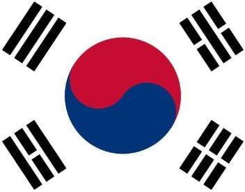 SOUTH KOREA International  3x5 Polyester Flag