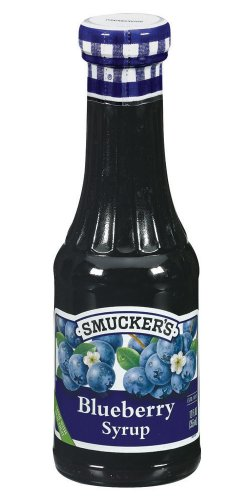 Smucker's  Blueberry Syrup, 12-Ounce Glass (Pack of 6)