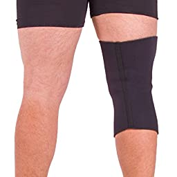 BraceAbility Plus Size XXXXL Compression Knee Sleeve