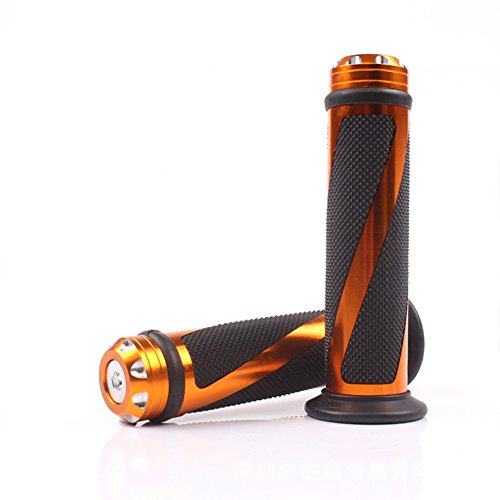 Turn Throttle - Motorcycle Handlebar / Aluminum Alloy Handlebar / Modified Motorcycle Throttle Handlebar / Turn Handle Accessories(Blue/Golden/Silver/Black) (Gold)