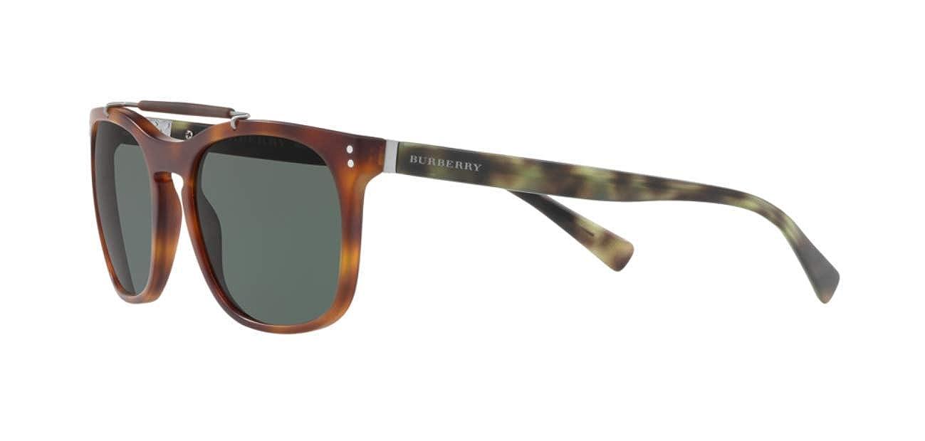 Amazon.com: anteojos de sol Burberry ser 4244 °F 362271 mate ...