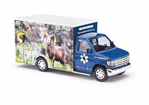 Bighorn Wyoming - Busch 41844 Wyoming Med #4 Bighorn HO Scale Model Vehicle