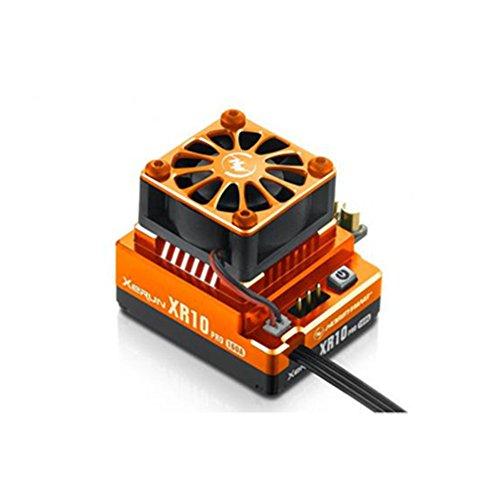 Hobbywing XERUN XR10 PRO Sensored Brushless ESC Orange Speed Controller 30112601 For (Novak Crawler)