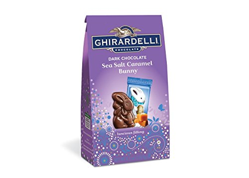 Ghirardelli Dark Sea Salt Caramel Bunny Bag - 4.1oz
