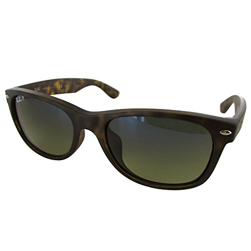 Ray-Ban Sunglasses (RB2132) Brown/Green Plastic - Polarized - 55mm