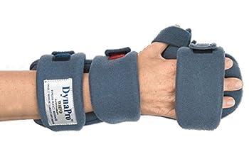 "DynaPro Orthotics - Finger Flex Splints, Right, Adult Large, Total Length 8"" - 9.5"", MCPWidth 3.5"" - 4"""