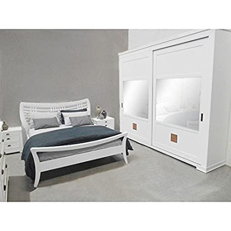 CASA OUTLET - Camera Da Letto con Scorrevole Piombini: Amazon.it ...