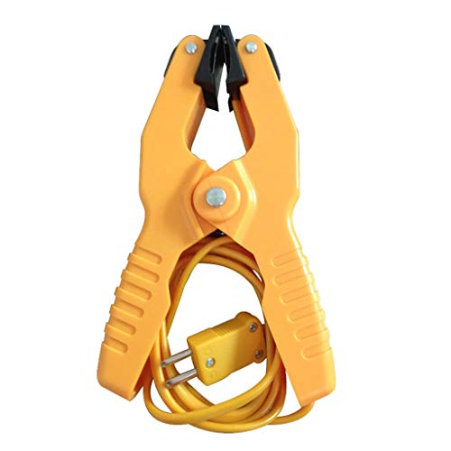 Type K Pipe Clamp Temperature Lead Probe HVAC Pipes Jaw Clip Plumbing Clamp (Thermometer Clamp)