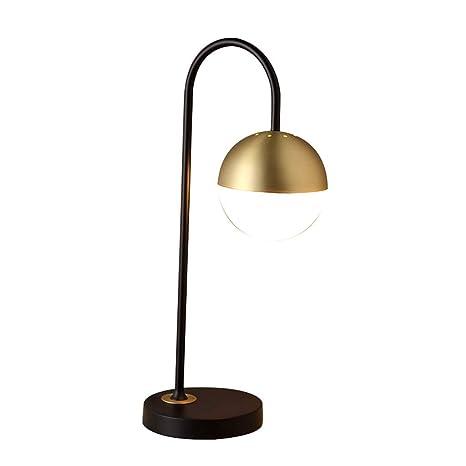 LCSHAN Lámpara de Mesa Modern E27 Simple Habitación de ...