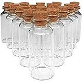 Axe Sickle - 20ml glass bottles,18 Pcs DIY decoration mini glass bottles favors,message bottle,Spice Bottles - Weddings Wish Jewelry Pendant Charms Kit Party Favors.