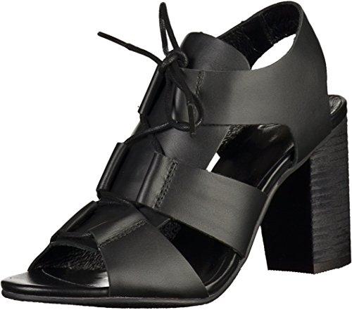 SPM 13484918 Plaisir Sandalias fashion de cuero mujer Schwarz