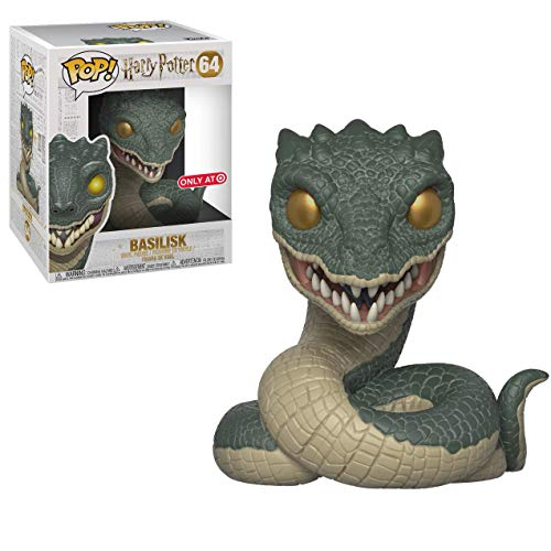 Funko Basilisk (Target Exclusive): Harry Potter x Deluxe POP! Vinyl Figure + 1 Official Harry Potter Trading Card Bundle [#064 / 31257]