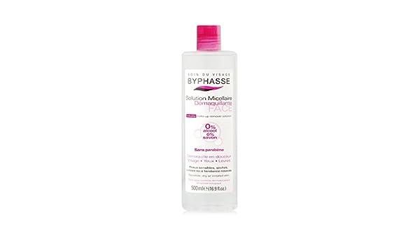 Solución Micelar Démaquillante - pieles sensibles - 500 ml: Amazon.es: Salud y cuidado personal
