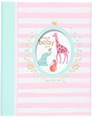 """Carter's""""Darling Baby Girl"""" Perfect-Bound Memory Book for Newborns and Babies, 64 Pages, 9"""" W x 11.125"""" H"""