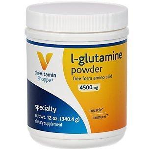 the Vitamin Shoppe L-Glutamine 12 Powder by Vitamin Shoppe