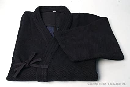 e868a7b1d Amazon.com : Shoaizome Dark Navy Double Layer Kendo Keikogi : Sports ...