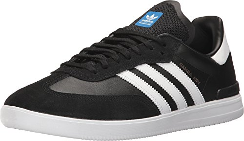 - adidas Skateboarding Men's Samba ADV Core Black/Footwear White/Bluebird 13 D US D (M)