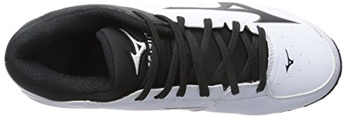 Mizuno Womens 9 Spike ADV Finch Elite 2 Fast Pitch Molded Softball Cleat White/Black