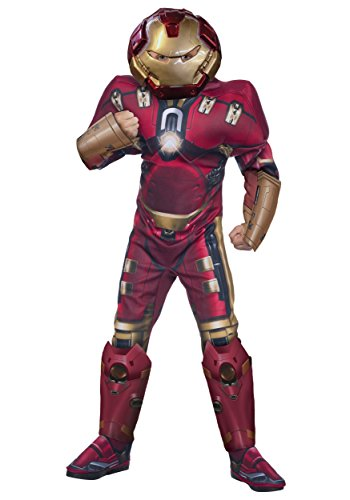 Official Iron Man Costume (Rubie's Costume Avengers 2 Age of Ultron Child's Deluxe Hulk Buster Iron Man Costume, Large)