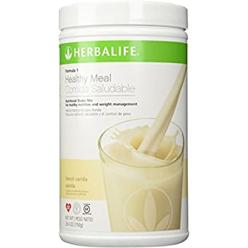 Herbalife Formula 1 Nutritional Shake Mix, French Vanilla, 750 Gram