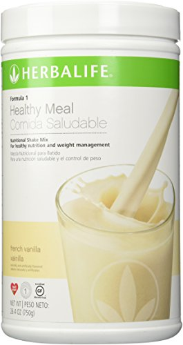 Herbalife Formula 1 Nutritional Shake Mix, French Vanilla, 750 Gram - Herbalife Variety Pack