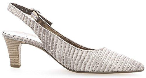 Zapatos Shoes Fashion Abierto de Gabor Talón Silk Mujer para Ev6Uwxqnx
