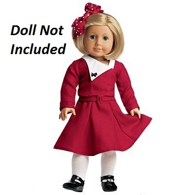 73262d547 Amazon.com: American Girl Kit - Kit's Holiday Outfit by American Girl: Toys  & Games
