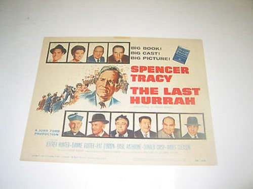 THE LAST HURRAH /ORIG. U.S. 11X14 TITLE CARD (SPENCER TRACY & JOHN - Tracy Ford