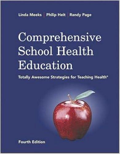 Pda-Ebook herunterladen Comprehensive School Health Education with PowerWeb/OLC Bind-in Card PDF iBook PDB 0072985909