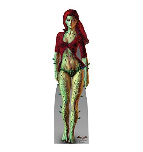 (Advanced Graphics Poison Ivy Life Size Cardboard Cutout Standup - Batman: Arkham)