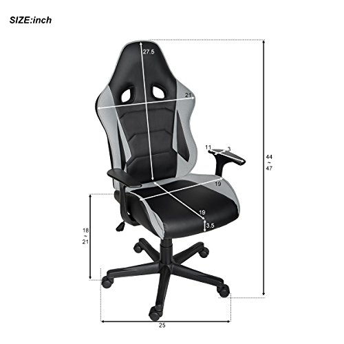 41q2kvBs4tL - ModernLuxe-Racing-Style-Gaming-Chair-Soft-PU-Leather-and-Mesh-Fabric-Task-Chair