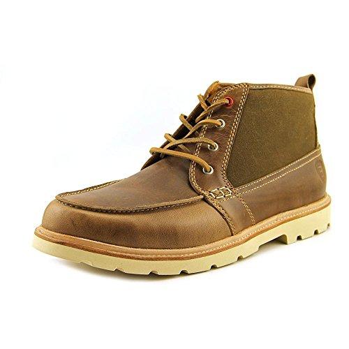Boston Boot Co. Mens Cambridge Chukka Boots Naturlig Canvas