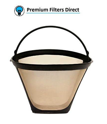 Premium Filters Direct Reusable Coffee Filters fits Cuisinart, Mr. Coffee, Ninja, Hamilton Beach, Black & Decker (Cuisinart Cone) - Permanent Cone