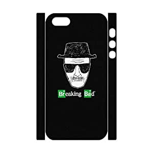 Breaking Bad Personalized 3D Case for Iphone 5,5S, 3D Customized Breaking Bad Case